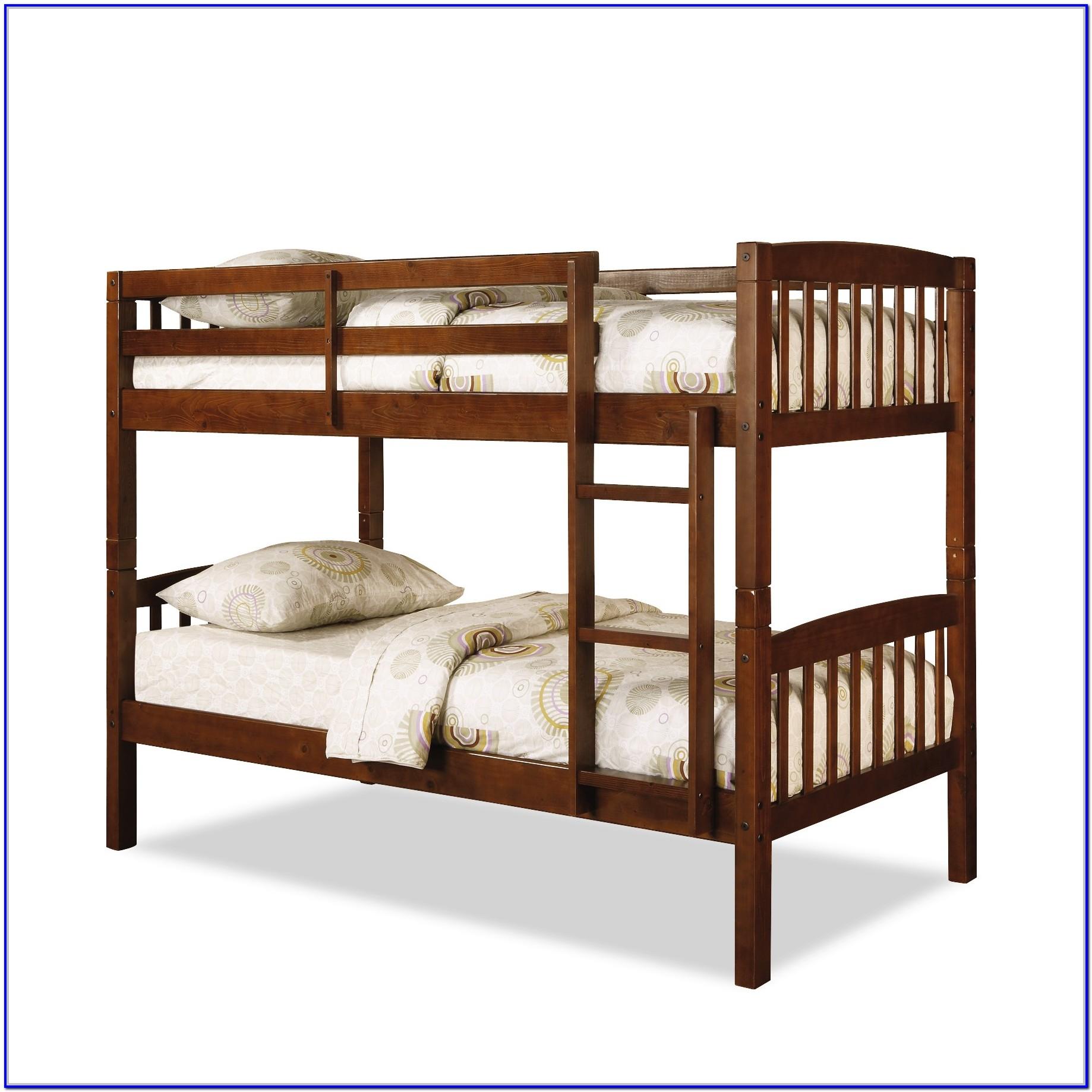 Hurlbert Twin Bunk Bed With Mattress