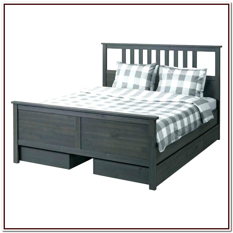 Ikea Hopen Queen Bed Frame Dimensions