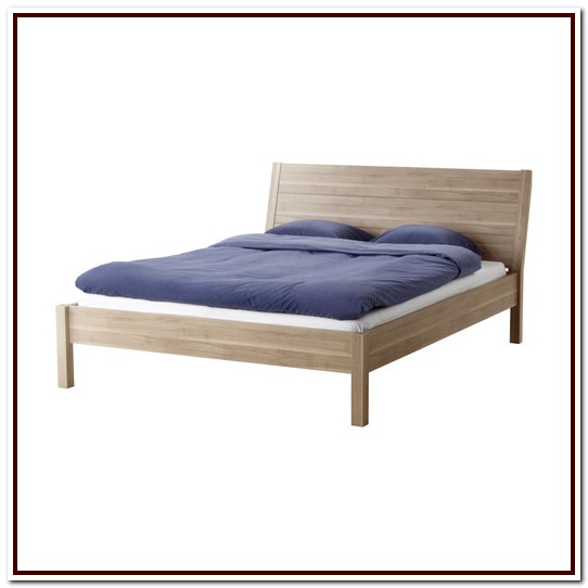 Ikea Nyvoll Queen Bed Frame Dimensions
