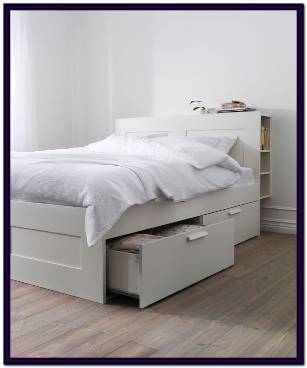 Ikea Queen Size Bed Frame With Storage