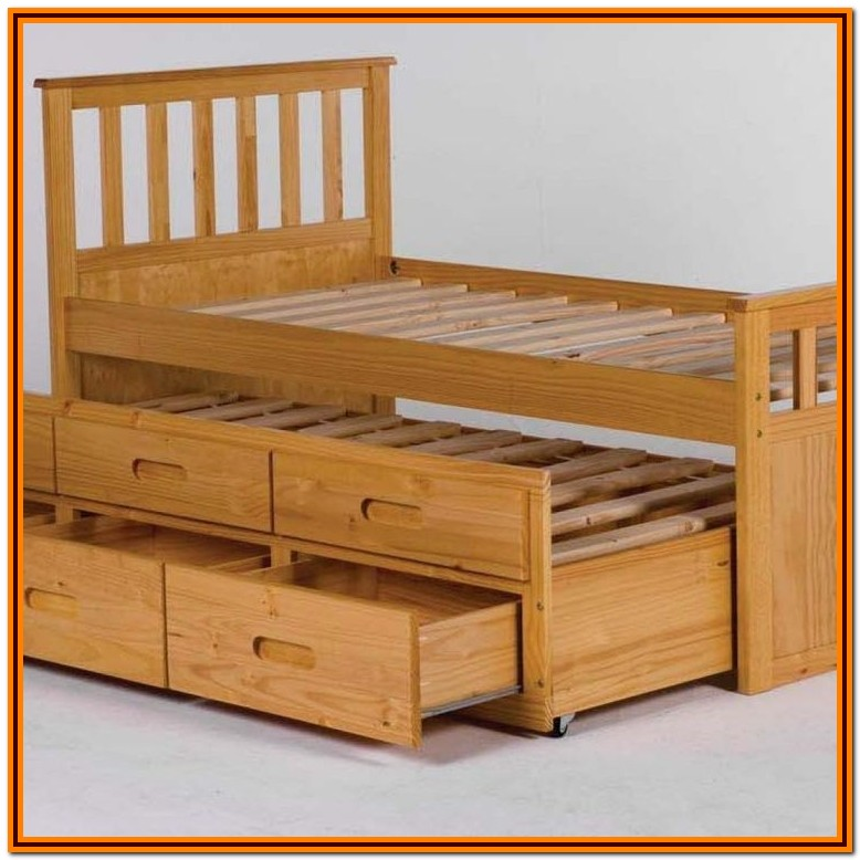 Ikea Single Bed With Storage Under