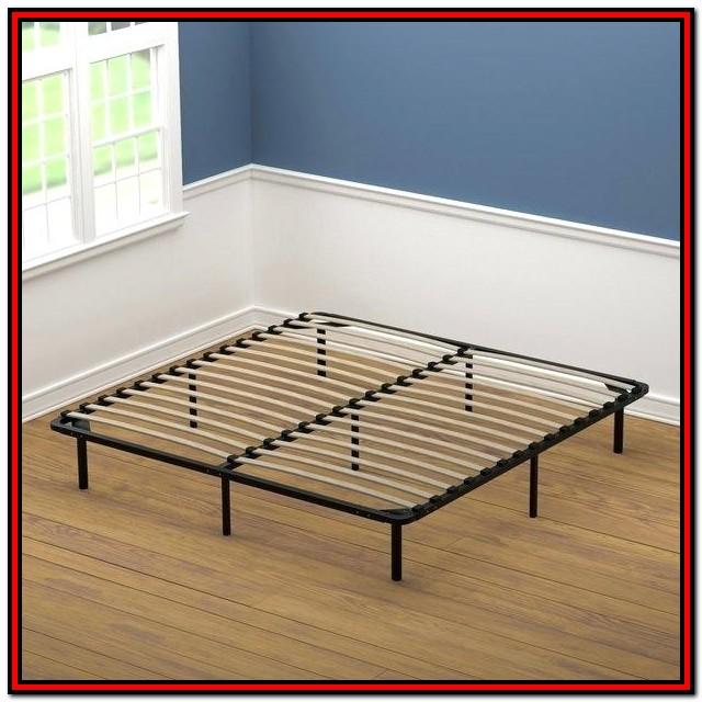 Intellibase Wood Slat Metal Bed Frame King Vmi 16111 K2