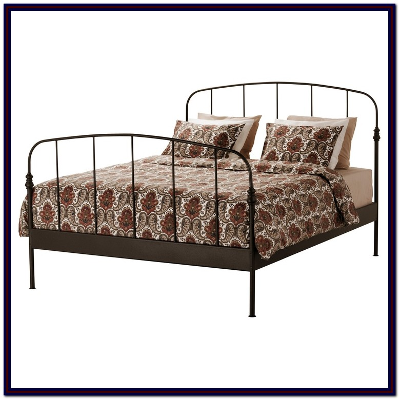 Iron Bed Frame Queen Ikea