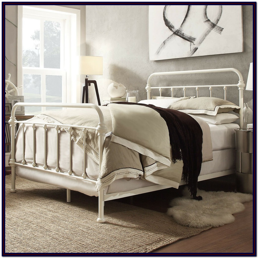 Iron Bed Frame Queen Size
