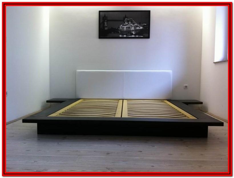 Japanese Style Platform Bed Plans