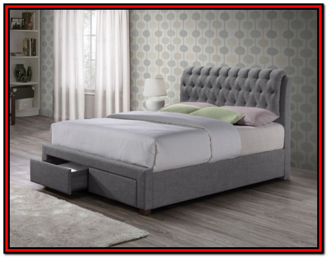 King 5ft Slatted Bed Base 150cm X 200cm