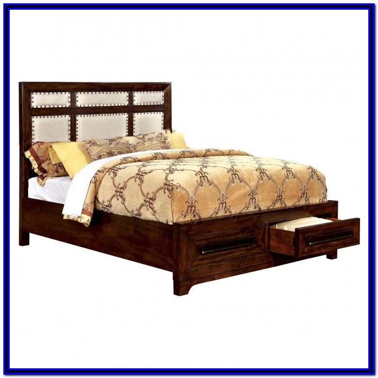 King Bed Frames With Drawers Underneath