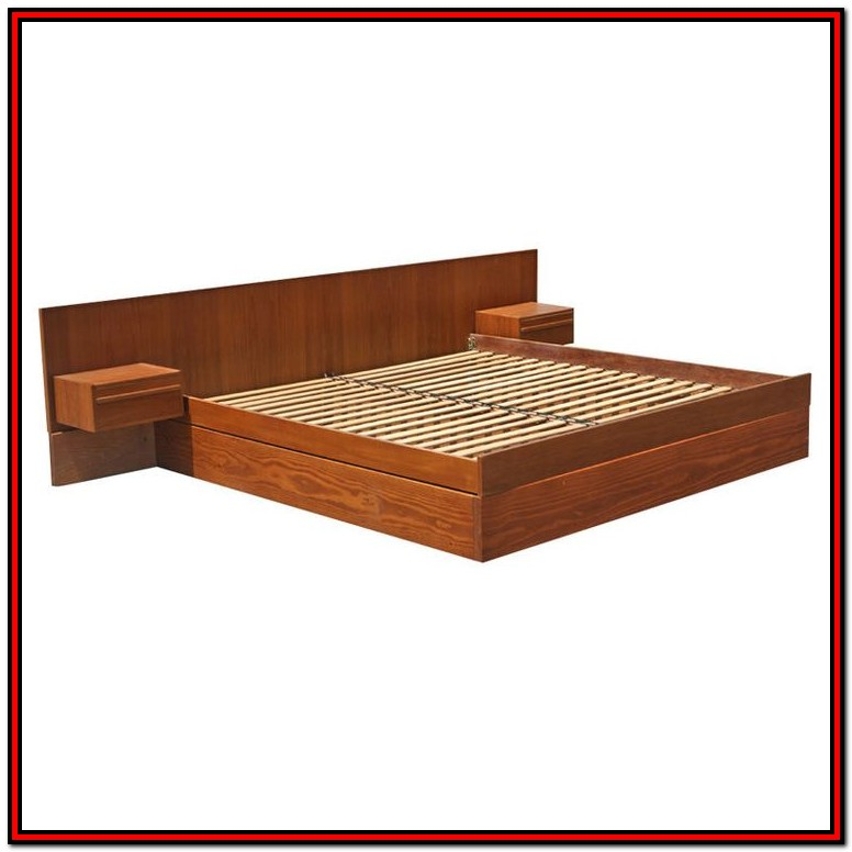 King Platform Bed Frame Plans Free
