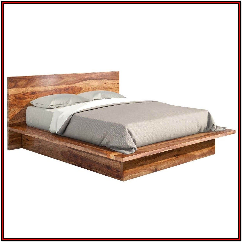 King Platform Bed Frame Wood