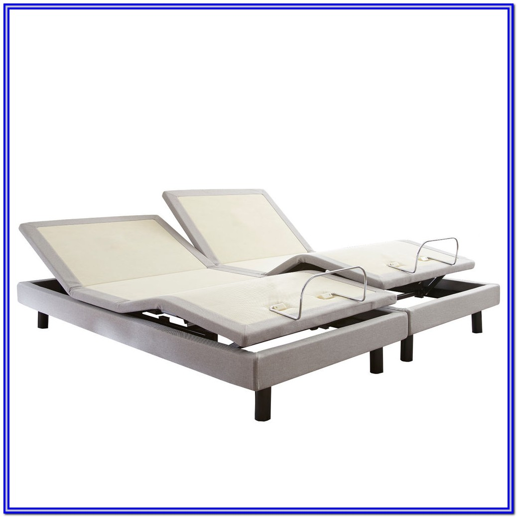 King Size Adjustable Bed Frame With Massage