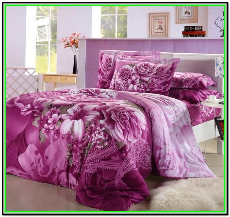 King Size Bed Comforter Sets Floral