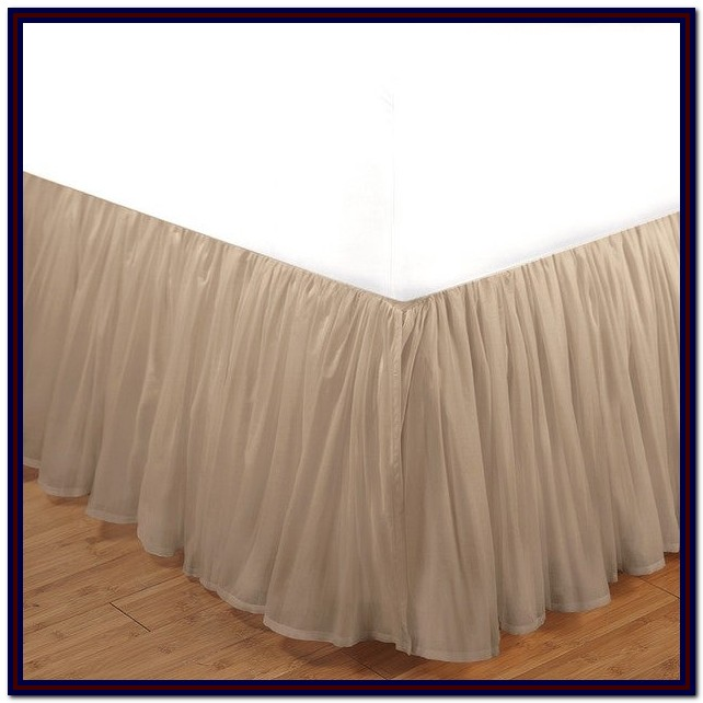 King Size Bed Skirts 16 Inch Drop