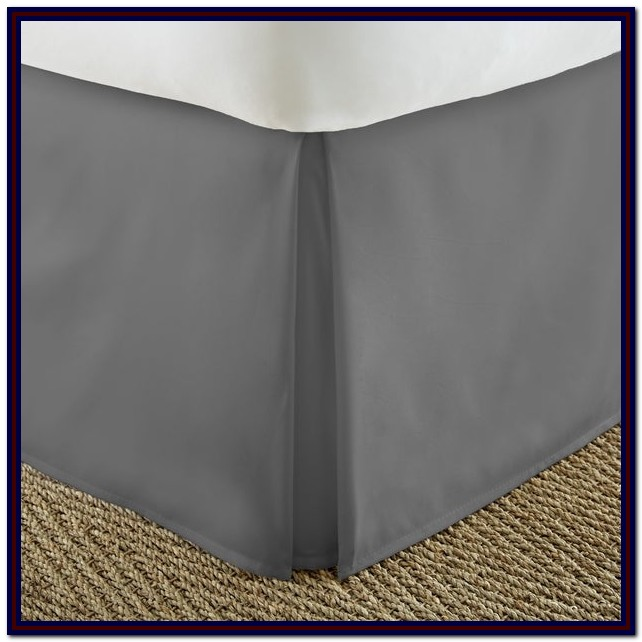 King Size Bed Skirts 22 Inch Drop