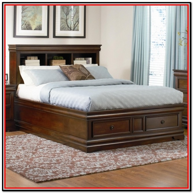 King Size Bed With Drawers Underneath
