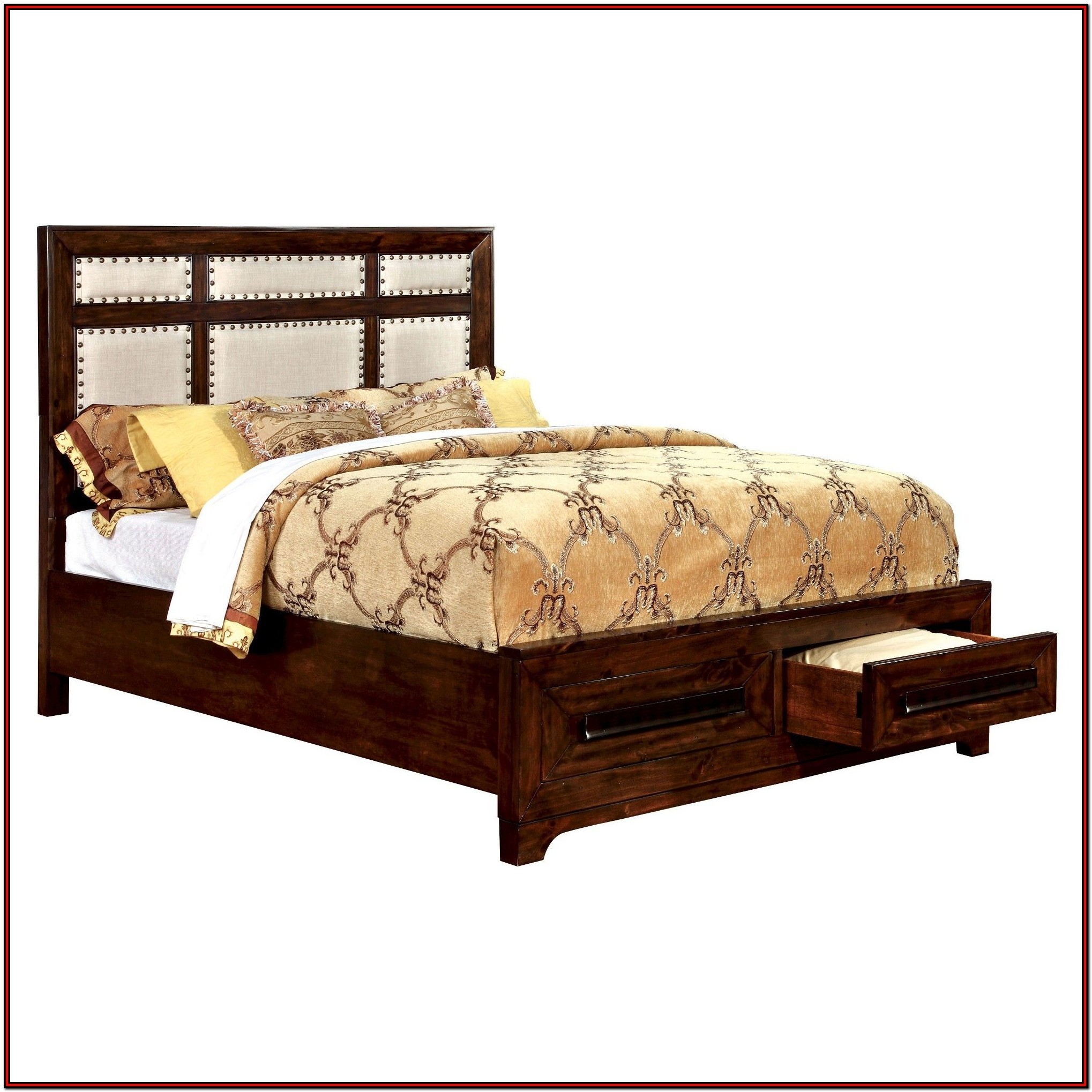 King Size Beds With Storage Drawers Underneath