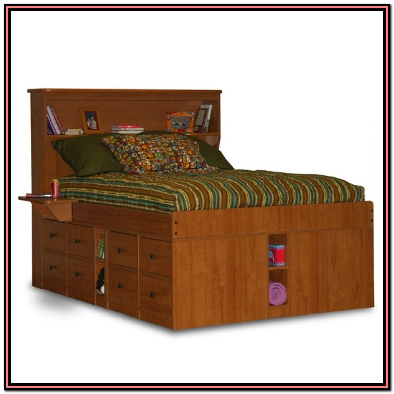King Size Captains Bed With Storage