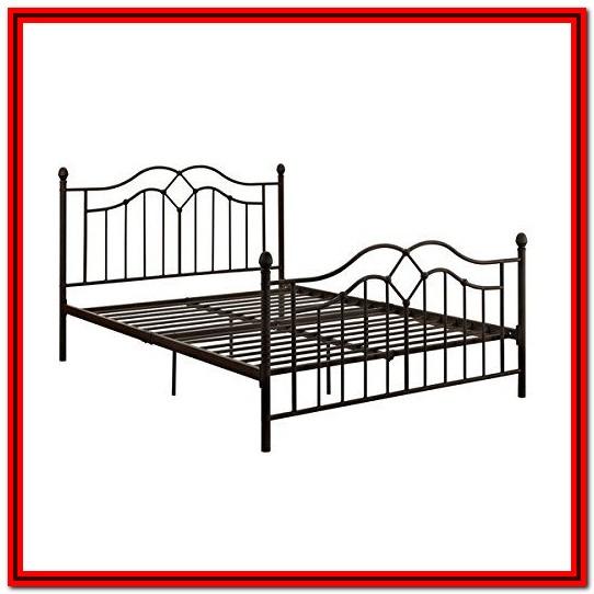 King Size Metal Bed Frame Amazon