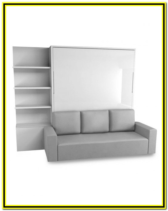 King Size Murphy Bed With Couch