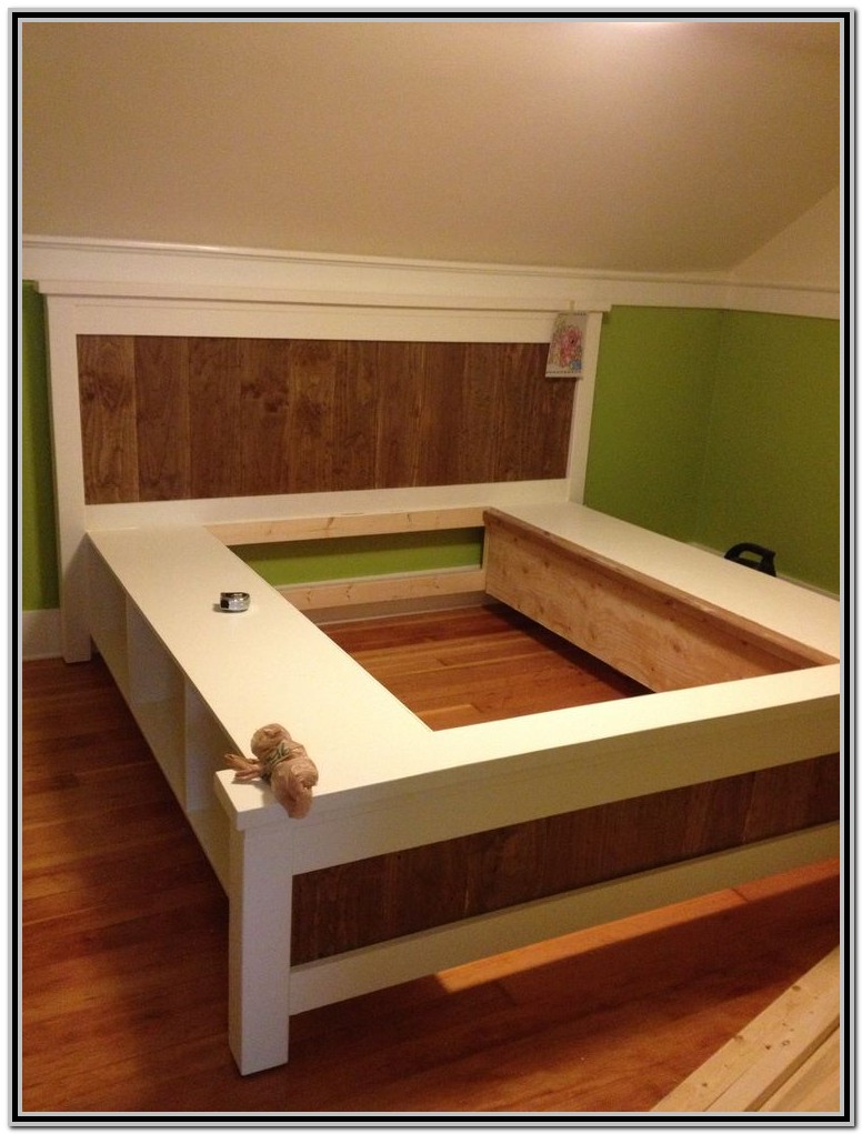 King Size Platform Bed Diy Plans