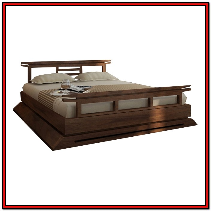 King Size Platform Bed Frame Plans