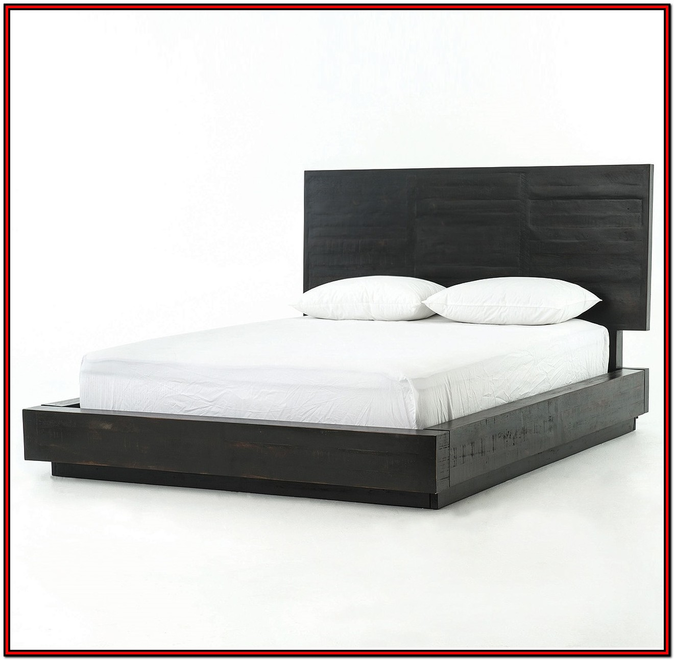 King Size Platform Bed Frame Wood