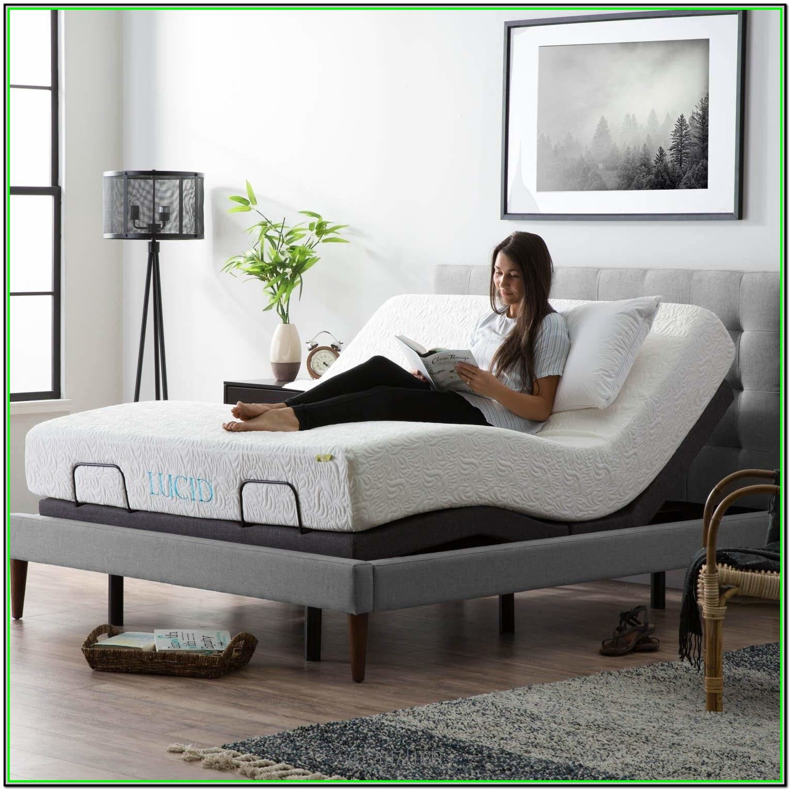 King Size Power Adjustable Bed Frame