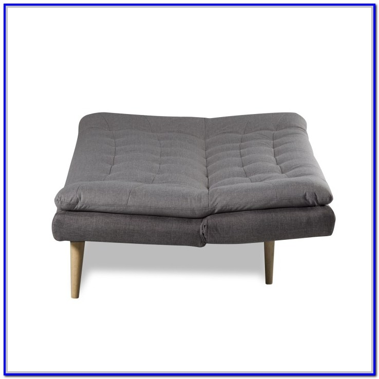 Light Grey Upholstered Ottoman Bed