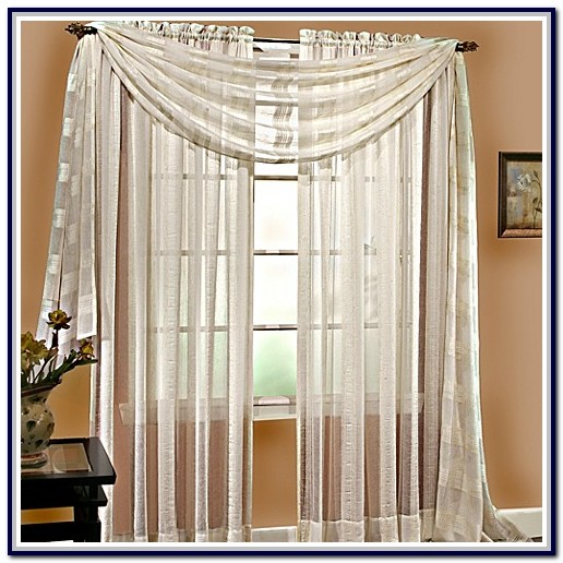 Linen Sheer Curtains Bed Bath And Beyond