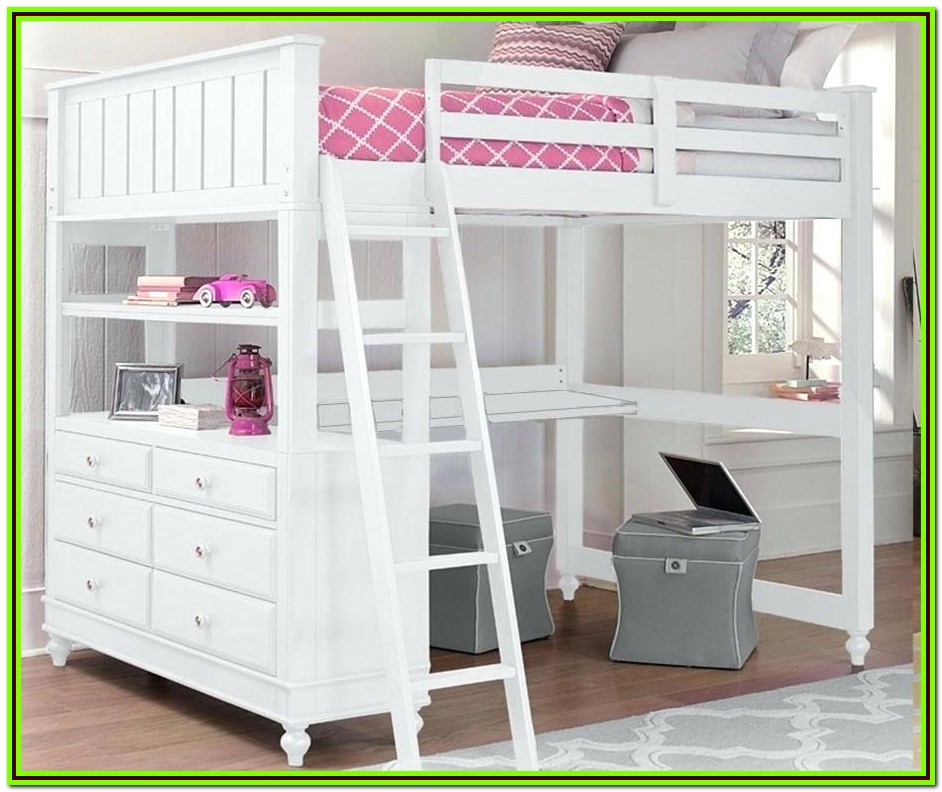 Loft Bed Frame For Full Size Mattress