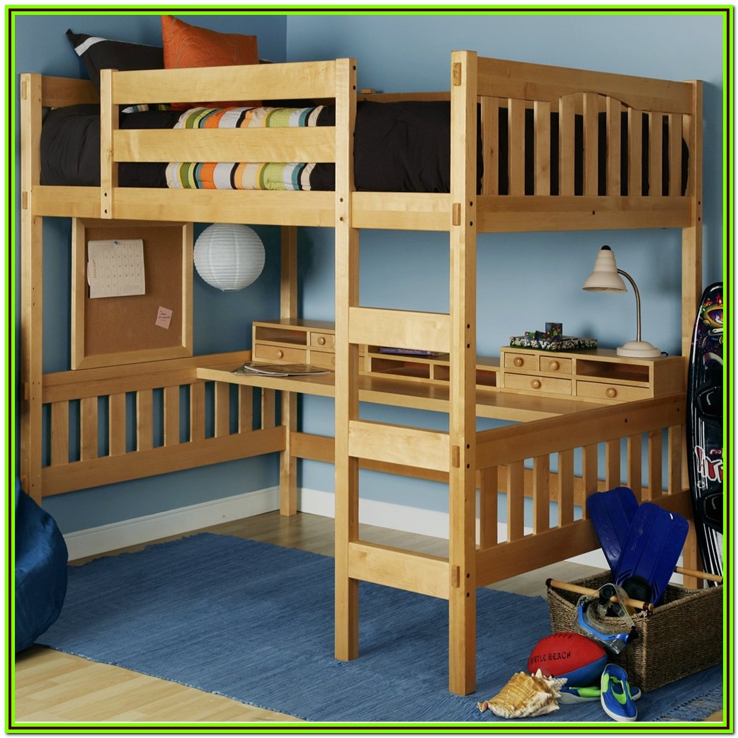 Loft Bed Frame Full Size Plans