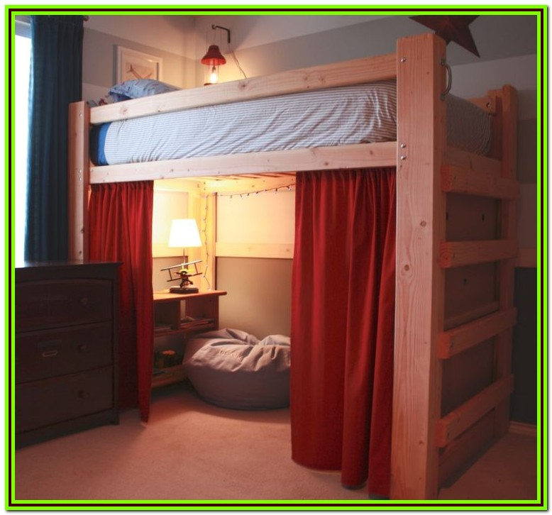 Loft Bed Full Size Plans