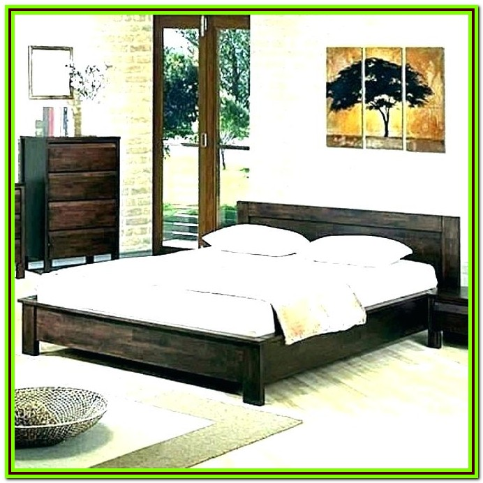 Low Bed Frames Queen Amazon