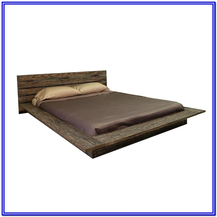 Low Platform Bed Frame King