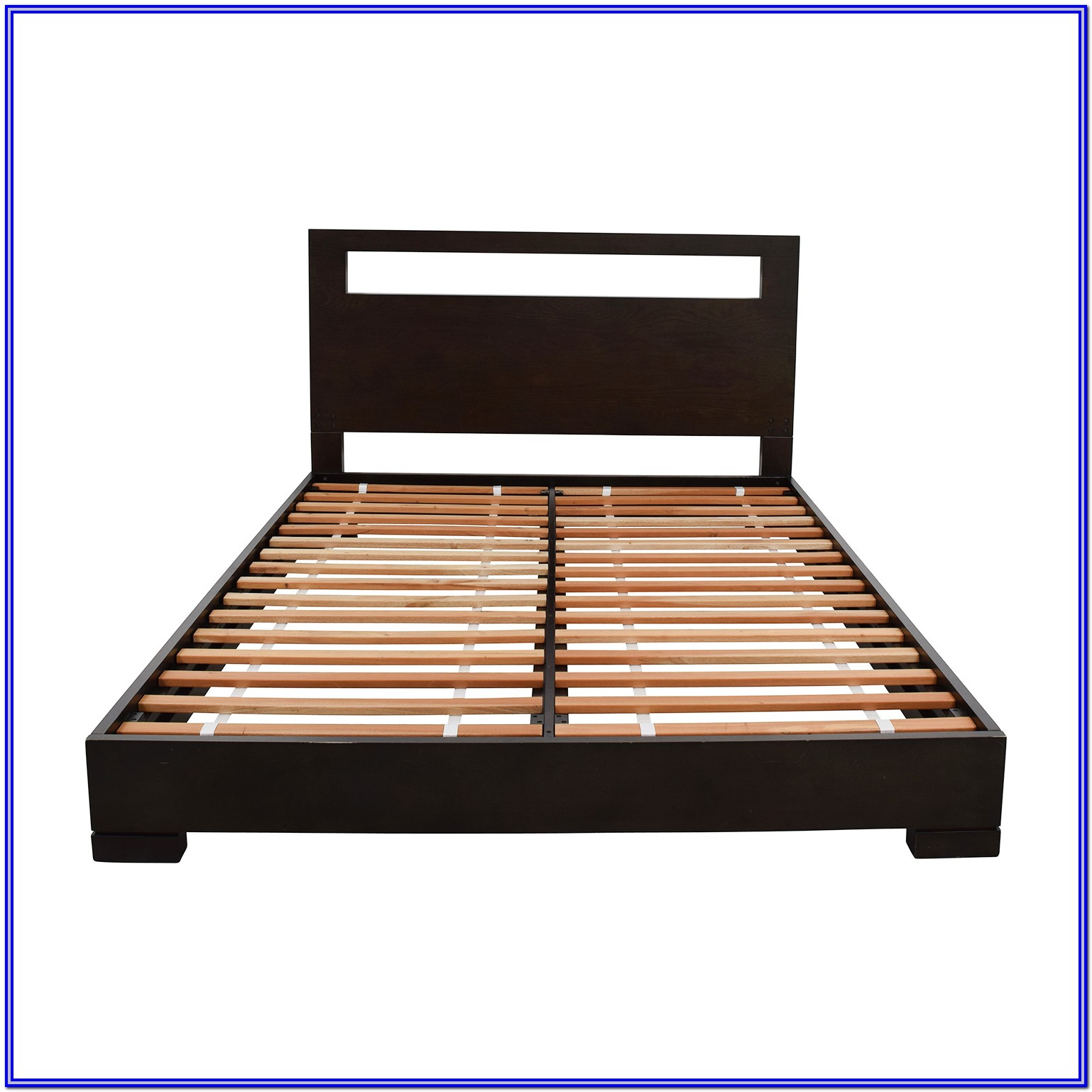 Low Platform Bed Frame Queen