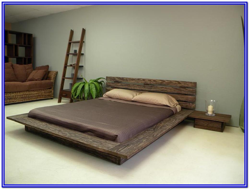 Low Platform Bed Frame Wood