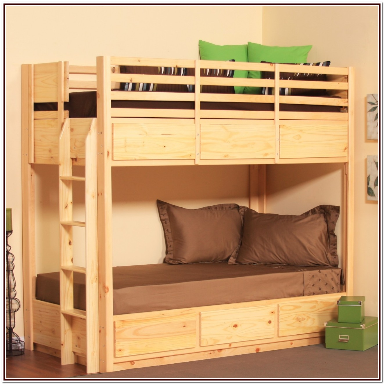 Low Profile Bunk Beds Full