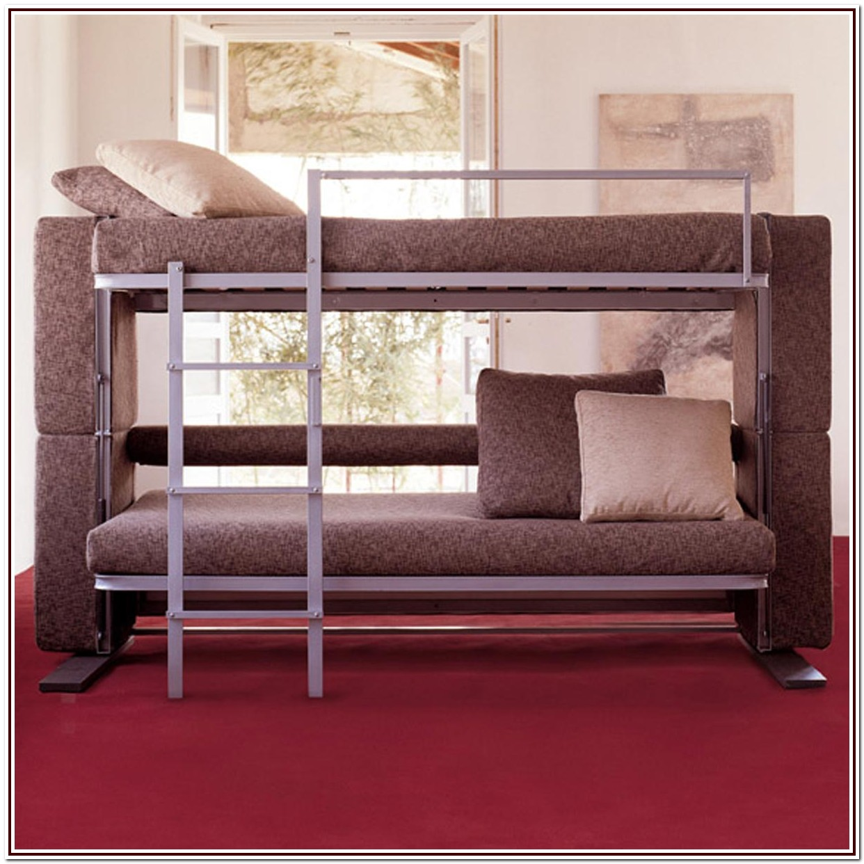 Low Profile Bunk Beds With Stairs