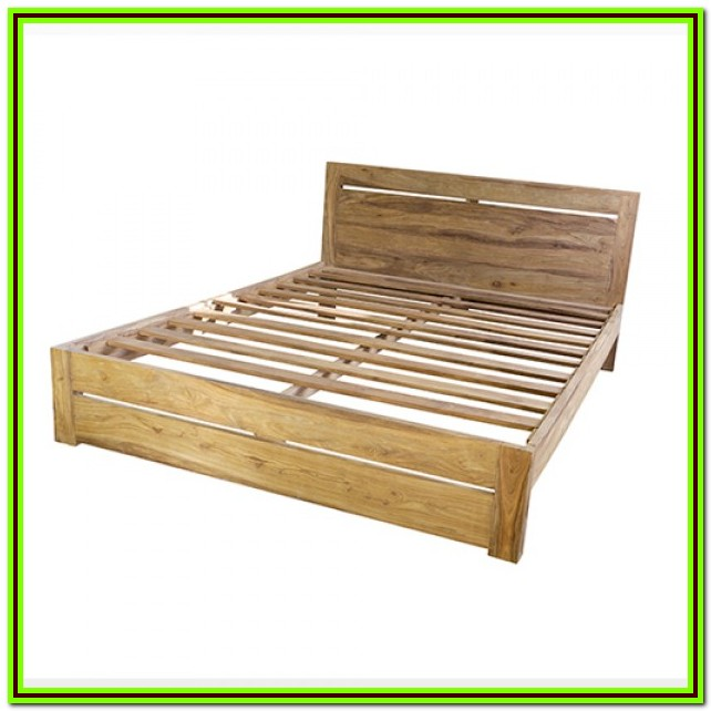 Low Wood Bed Frame Queen
