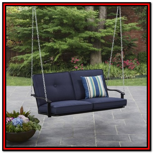 Mainstays Callimont Park 3 Seat Canopy Porch Swing Bed