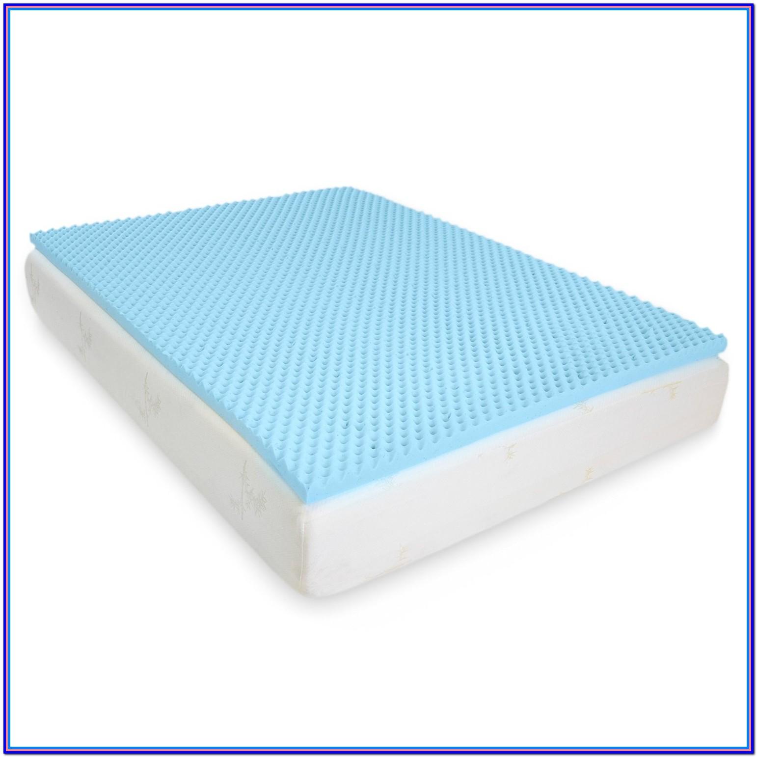 Memory Foam Bed Topper Queen