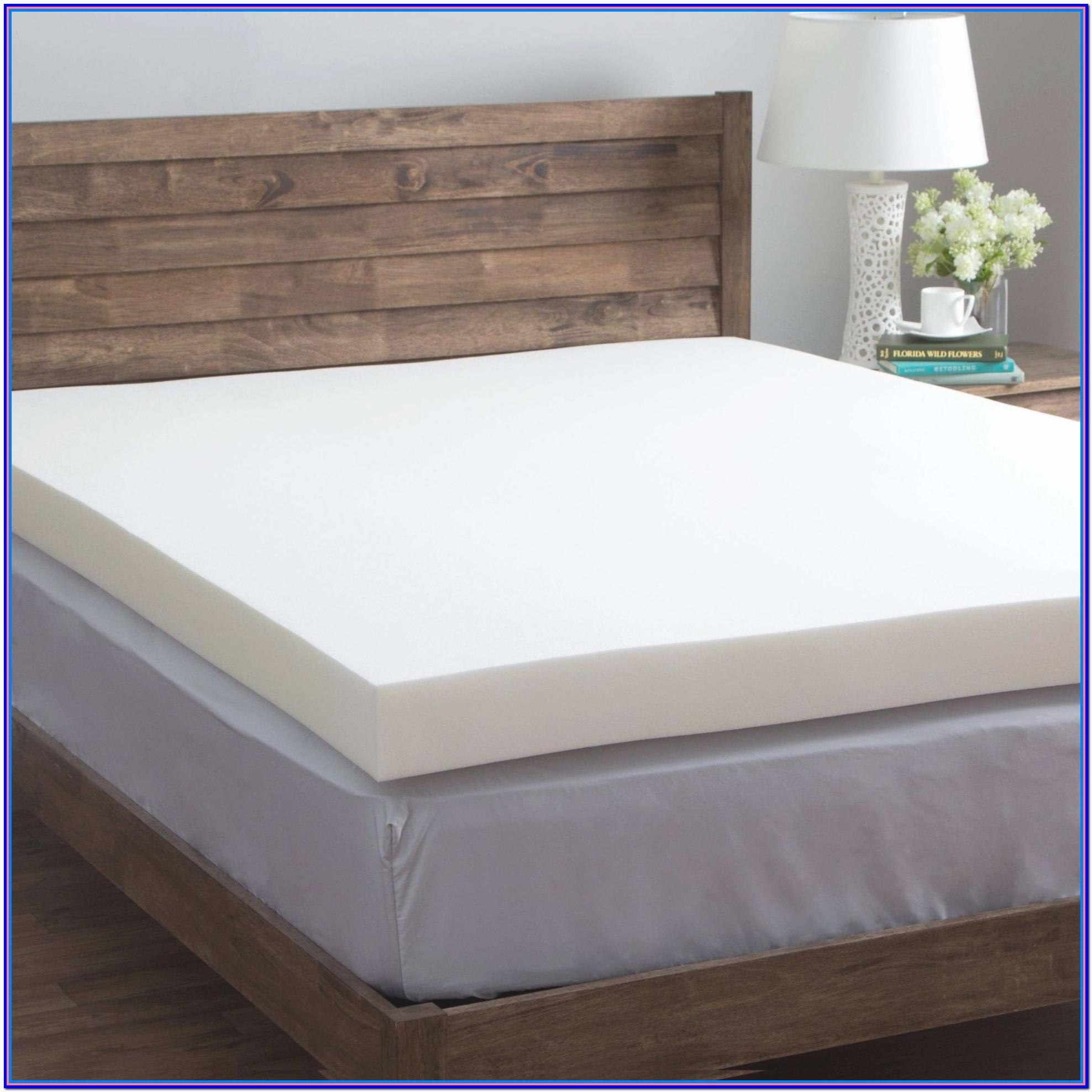 Memory Foam Bed Topper Walmart