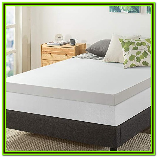Memory Foam Mattress Topper Queen 4 Inch