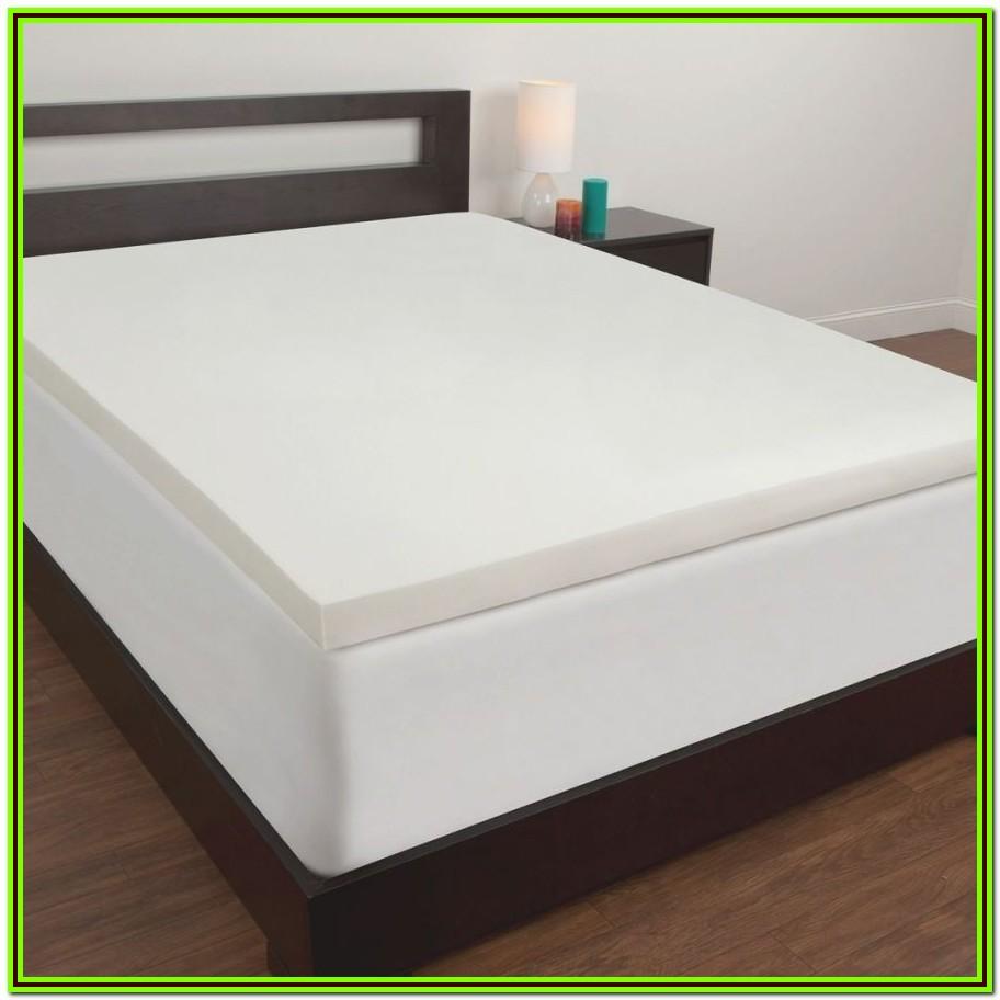 Tempur Pedic Memory Foam Mattress Topper Twin Xl Bedroom