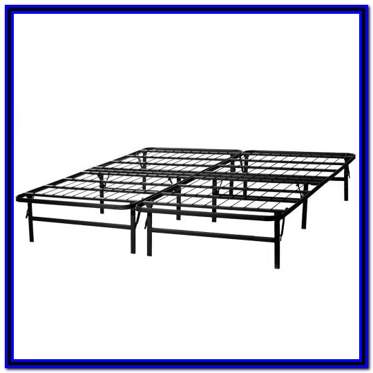 Metal Bed Frame King Amazon