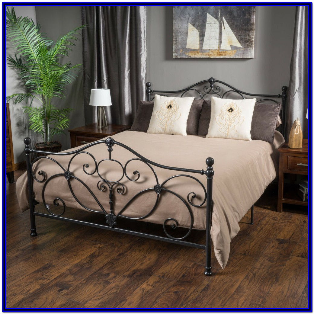 Metal Bed Frame King Size
