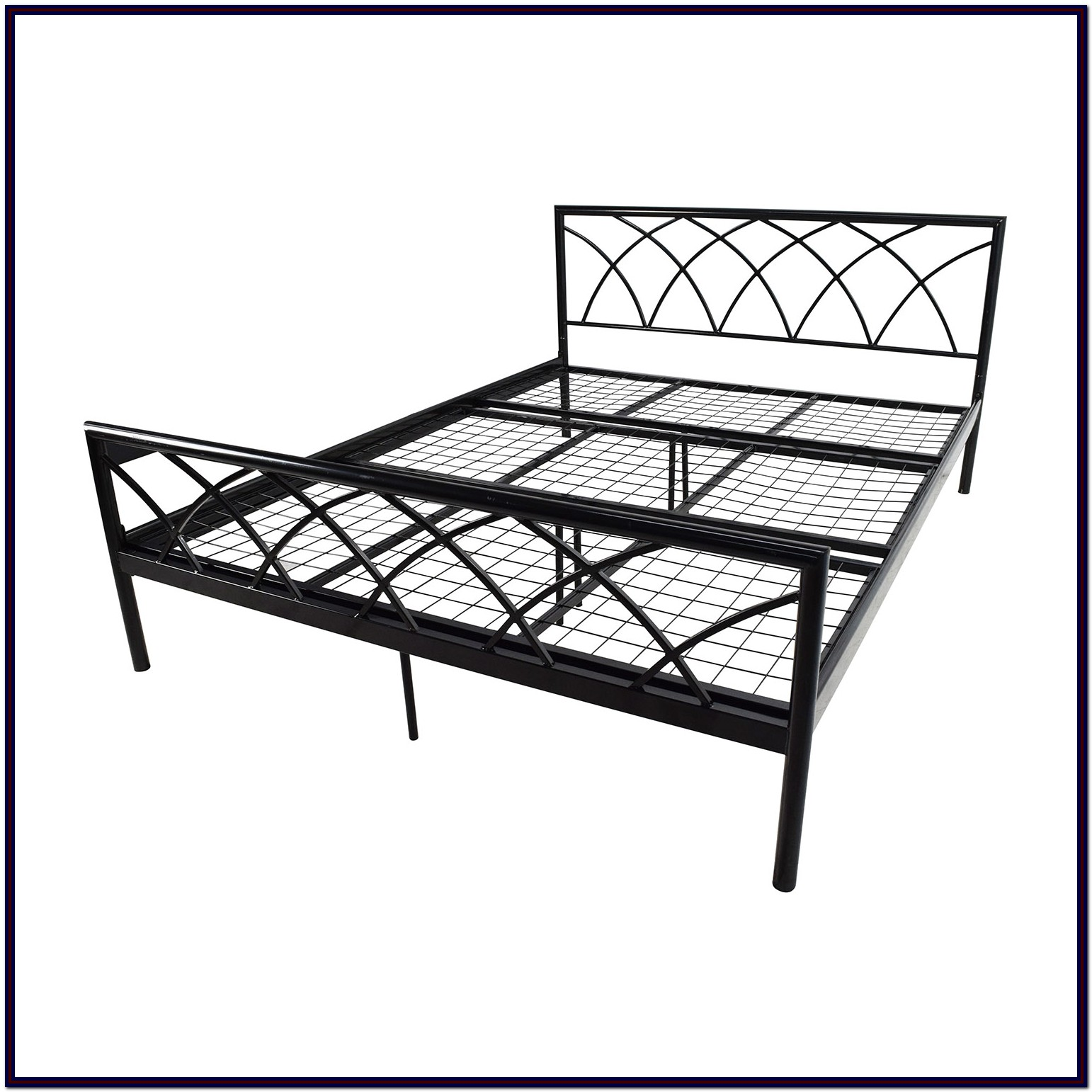 Metal Bed Frame Queen Dimensions