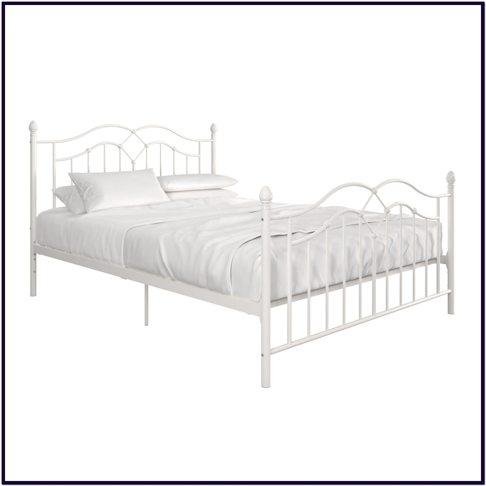Metal Bed Frame Queen Instructions