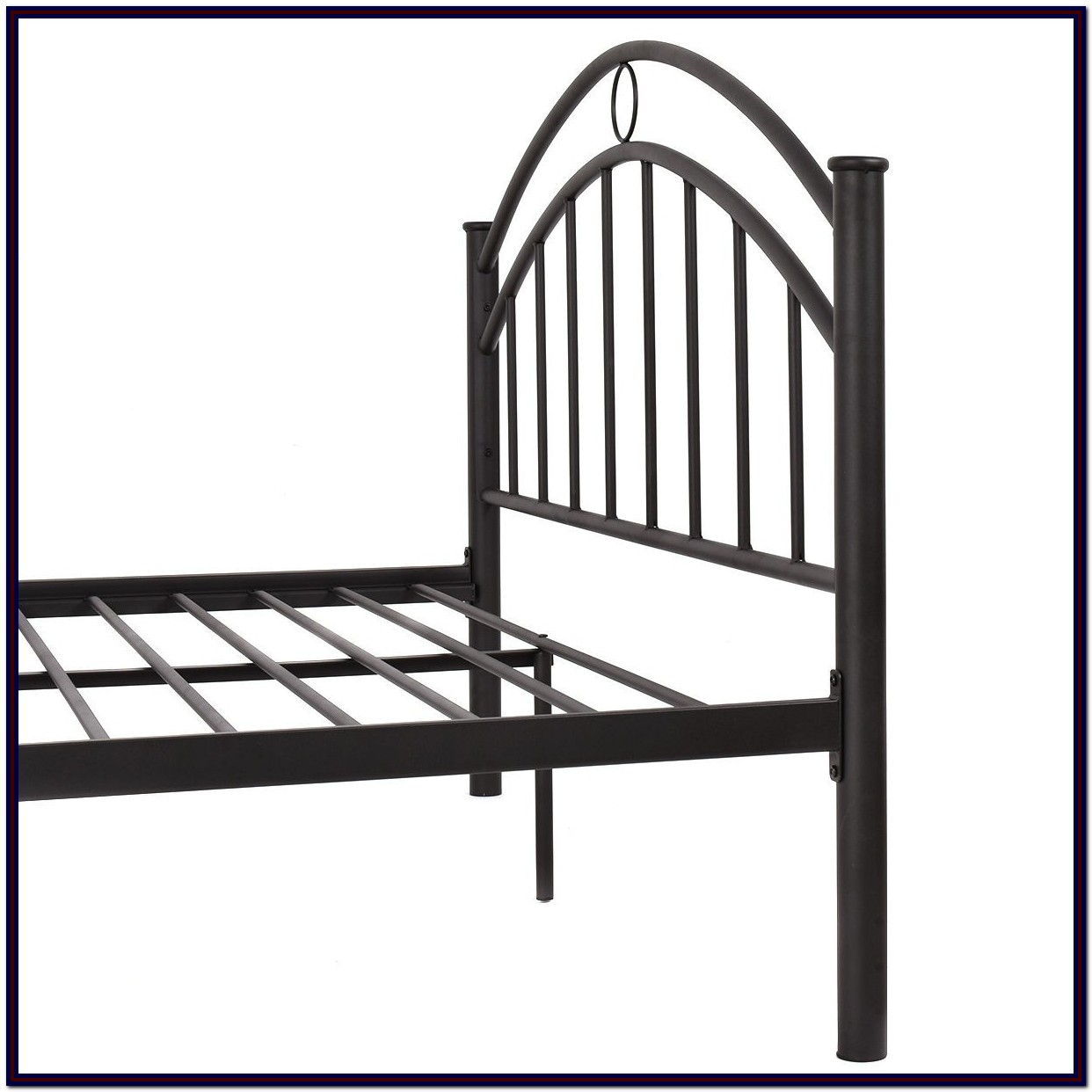 Metal Platform Bed Frame Queen Size