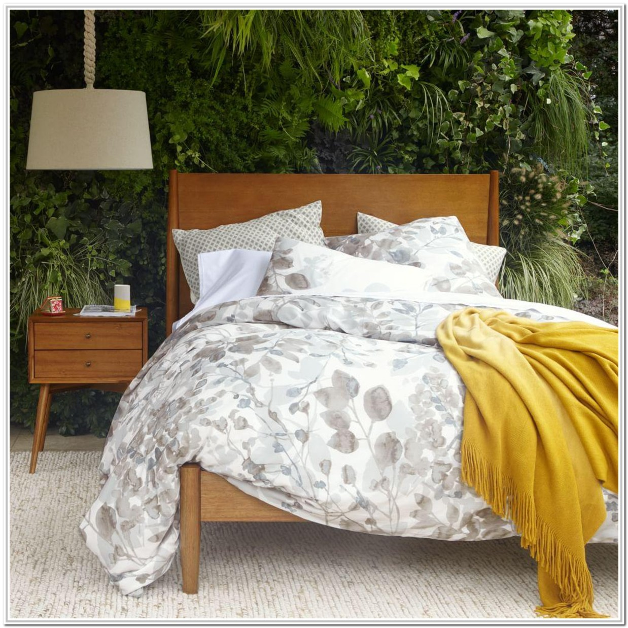 Mid Century Bed Frame Acorn
