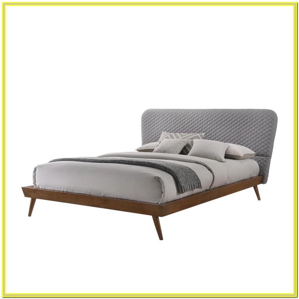 Mid Century King Platform Bed Frame